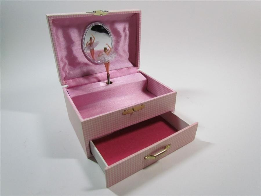 musical child s ballerina jewelry box you light up by