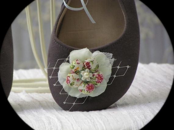 Shoe Clips - Spring Flower Shoe Clips
