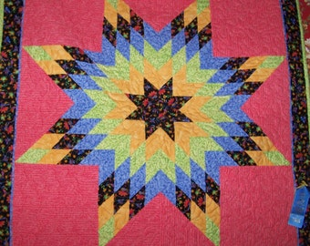 Lone Star - Wall Quilt