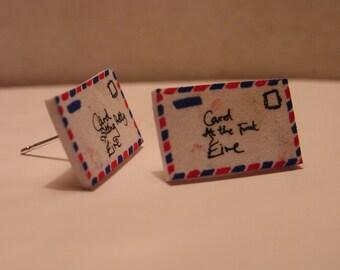 Personalised Airmail Letter Earrings