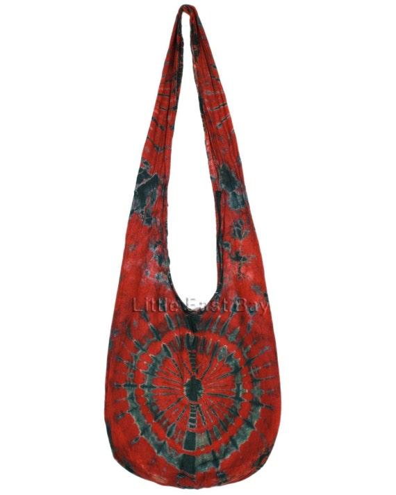 hippie hobo tie dye sling crossbody bag purse n9 by