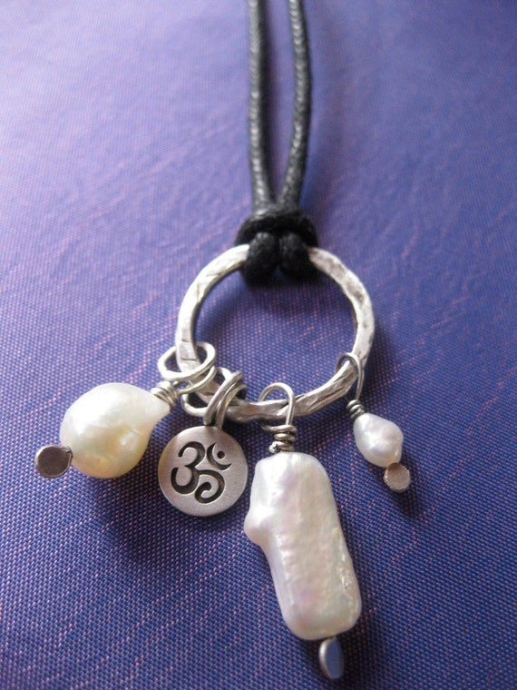 Pearly OM Necklace
