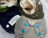 Newborn All-in-Two Organic Cloth Diaper - Fancy Cloth Baby