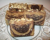 Brown Sugar Pecan with Oatmeal Handcrafted Soap for your morning shower
