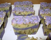 Lavender Love, Handcrafted goat milk soap