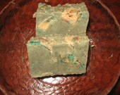 Thanksgiving Special: Two AppleJack Green Handmade Soaps