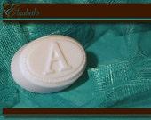 personalize monogrammed goats milk soap