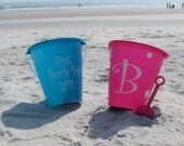 Personalized Beach Buckets-2 Sided
