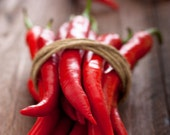 Organic Heirloom Long Red Cayenne Pepper Seeds