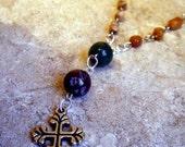 Earthy Stone Anglican Prayer Beads