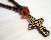 Hippie Glass Anglican Rosary Bracelet