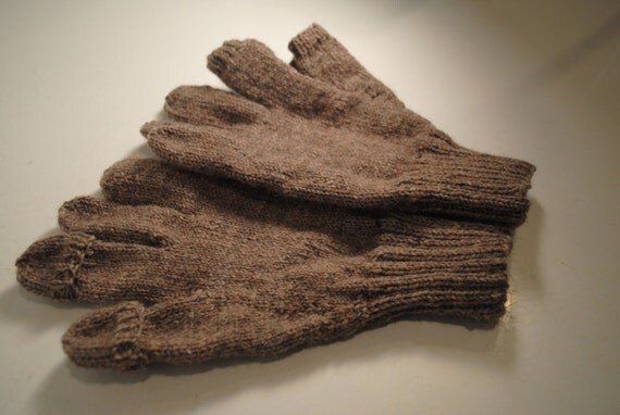 Hand Knitted Texting Gloves