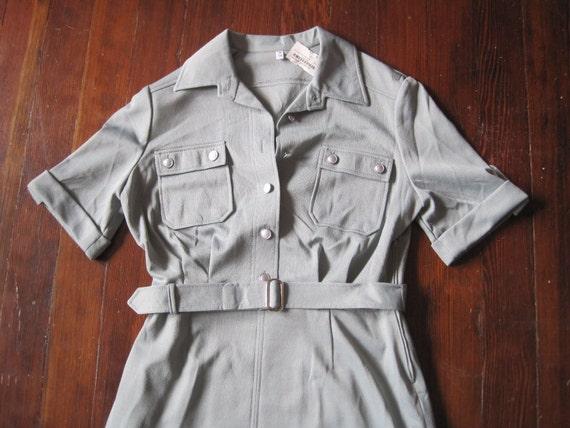 Vintage Army Surplus Dress