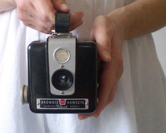 Iconic Kodak Brownie Hawkeye Box Camera