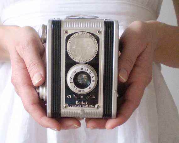 Vintage Camera - Original Kodak Duaflex Twin Lens