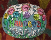 "Jez4U Custom Hand painted Grandma Rock Painted special for you about 5"" X 7"""