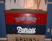 Boston Fan Dresser Great Sturdy Drawers Solid Wood Painted and Ready to Ship to you today