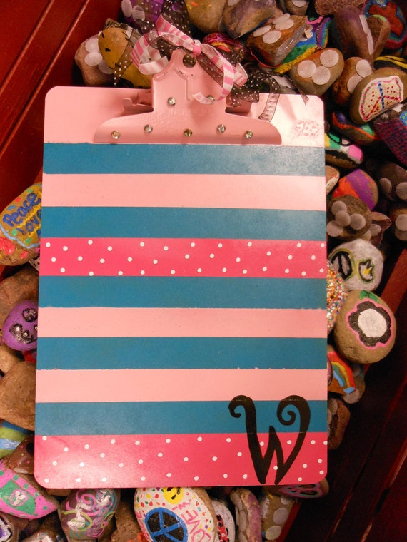 Jez4U Custom Hand painted Clipboard for Mrs.Whatley reserved for Cheryl