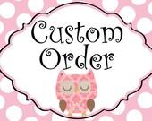 Custom Order for HensonCreations