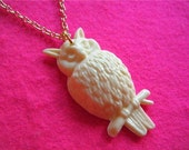 hoot hoot owl necklace