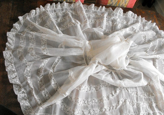 RESERVED FOR KATE Wedding Petticoat French Vintage For Wearing Under Your Wedding Gown
