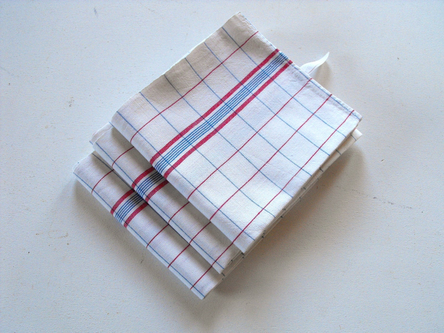 3 Vintage French Kitchen Towels Torchon 39 So French 39