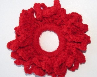 Fall In Love Red Looped Scurunchie