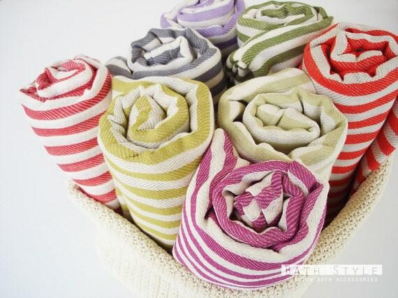 Turkish BATH Towel Peshtemal - Lilac