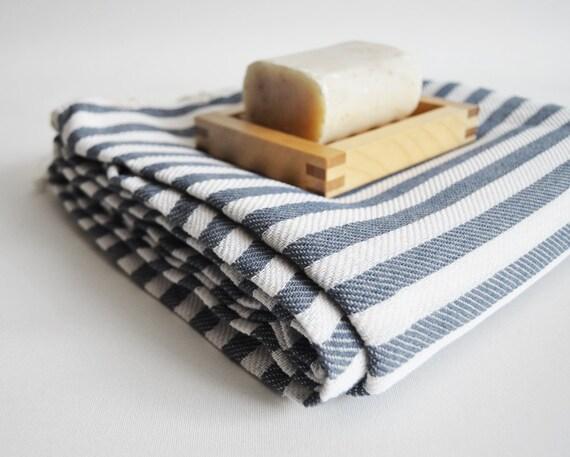 Turkish BATH Towel Peshtemal - Gray No:2