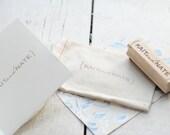 Custom Monogram Rubber Stamp