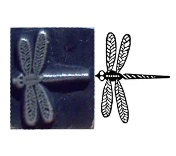 pretty dragonfly stamp
