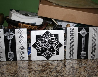 Custom Wall Plaques from Natty Dread Three times the Love
