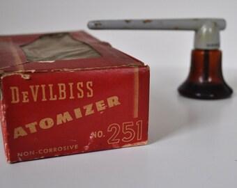 Antique DeVilbiss Atomizer in Box