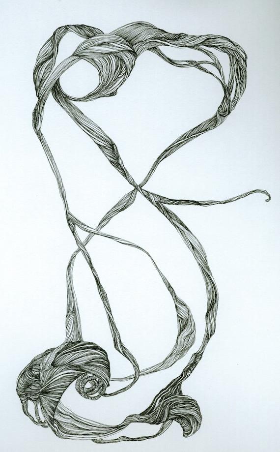 Strings and Sinews - original artwork