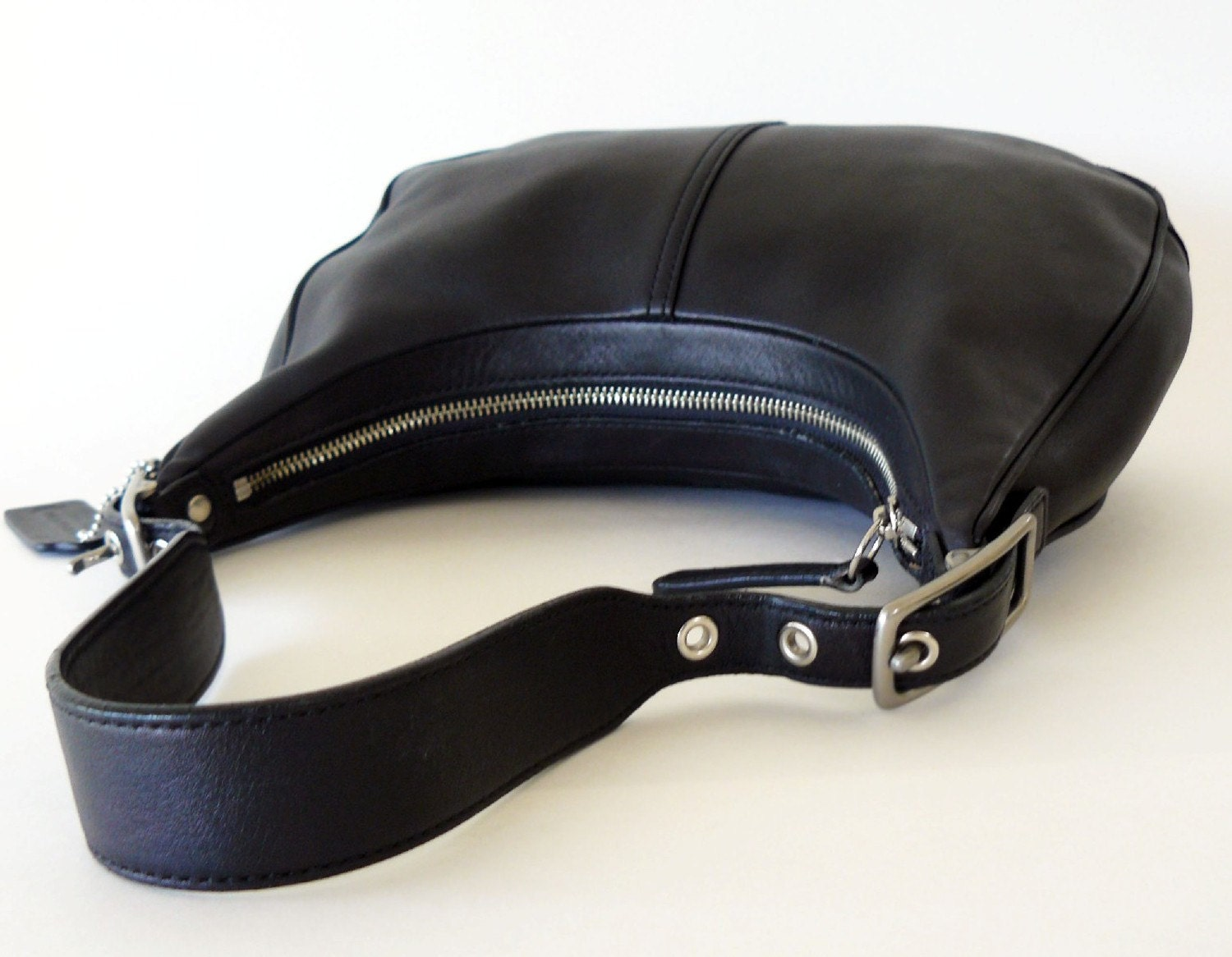 67d33f087b08 Coach Black Leather Hobo Purse | Stanford Center for Opportunity ...