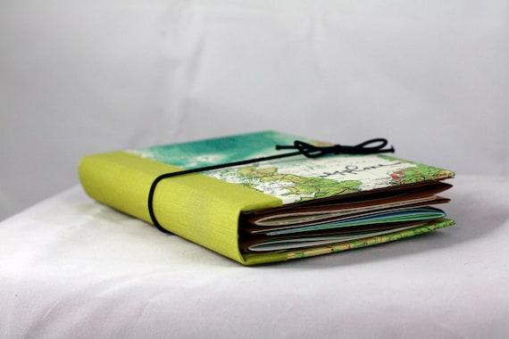 Custom travel journal for PATRICIA