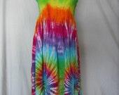 Tie Dye Convertible Skirt to Dress | Sizes Small through 2X