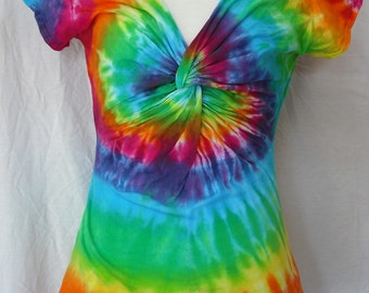Tie dye Twisty Top sizes Small through 3XL