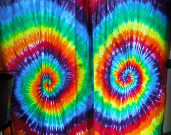 Tie Dye Custom Curtain Panel