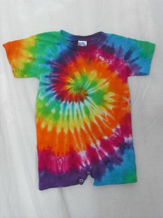 tie dye best friends romper and t shirt set
