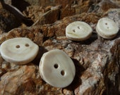 antler buttons (set of 4)