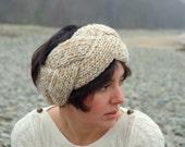 Cable knit headband / ear warmer
