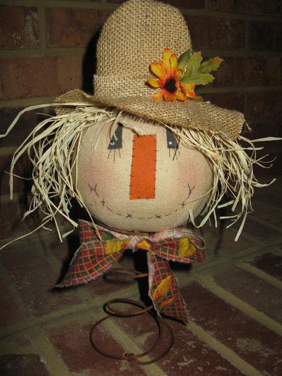 Primitive Scarecrow Nodder
