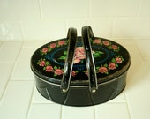 Vintage Tin with Handles