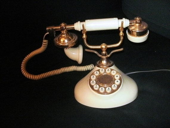 Retro 70's  Reproduction French Princess Telephone
