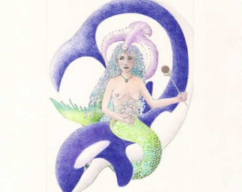 Mermaid Princess & Whale Defender