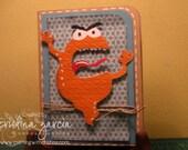 Masculine Monster Card
