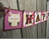 Cute Little Hoot Owl Customized First Birthday Party Package Deluxe
