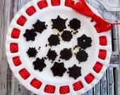 Mini Gourmet Chocolate Snow Flakes (4 Dozen)