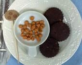 All Natural & Organic butterscotch Cookies 1 Dozen
